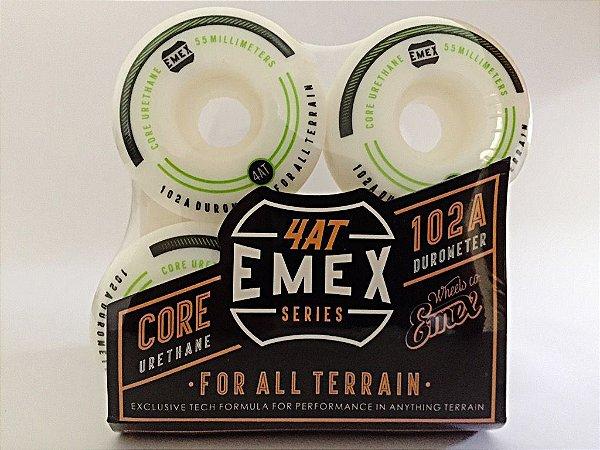 Rodas Emex Series 55mm Green