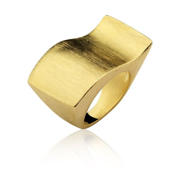 Anel Oscar Niemeyer 195 Ouro