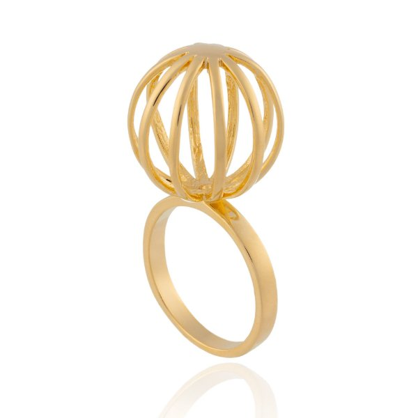 Anel Delaunay 360 Ouro