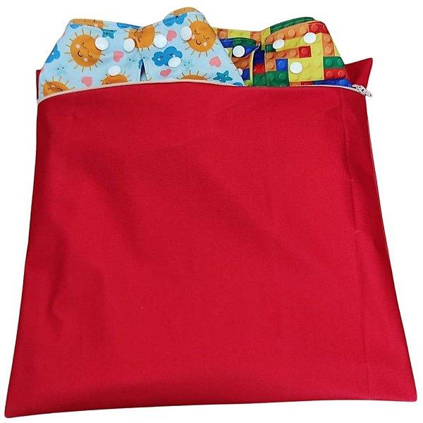 Bolsa Impermeável Vermelha