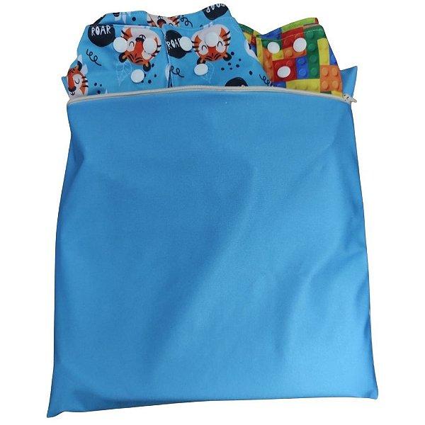 Bolsa Impermeável Azul bebê