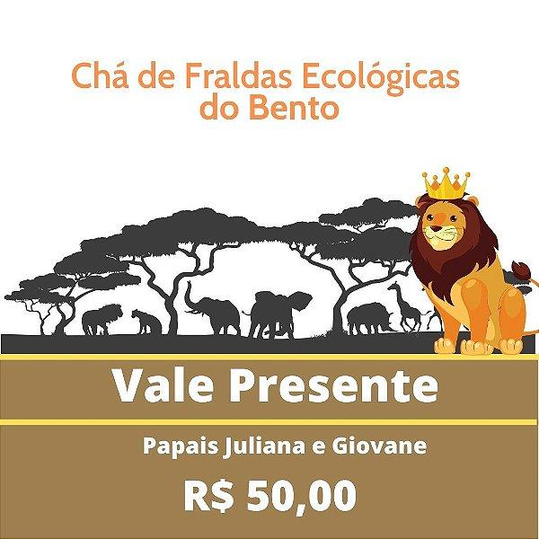 Chá de Fralda Ecológicas do Bento