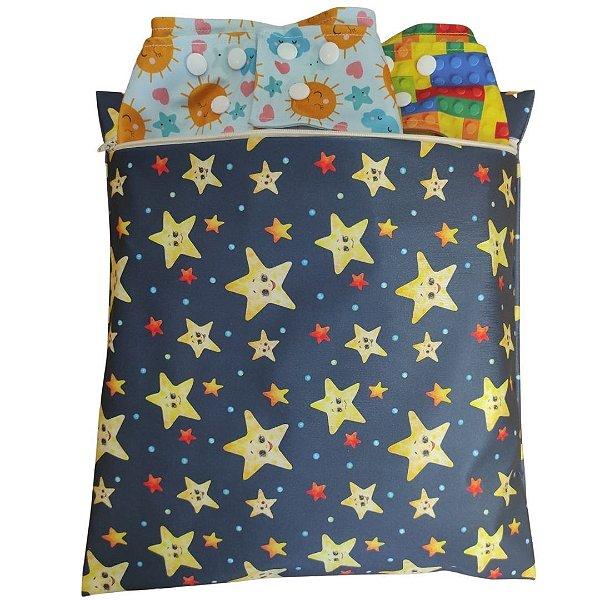 Bolsa Impermeável Estrelas