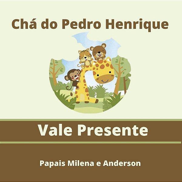 Chá do Pedro Henrique