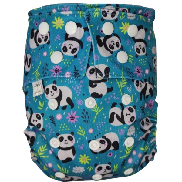 Fralda Ecológica em PUL Pandas