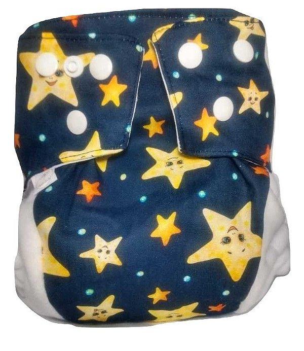 Fralda Ecológica estrelas