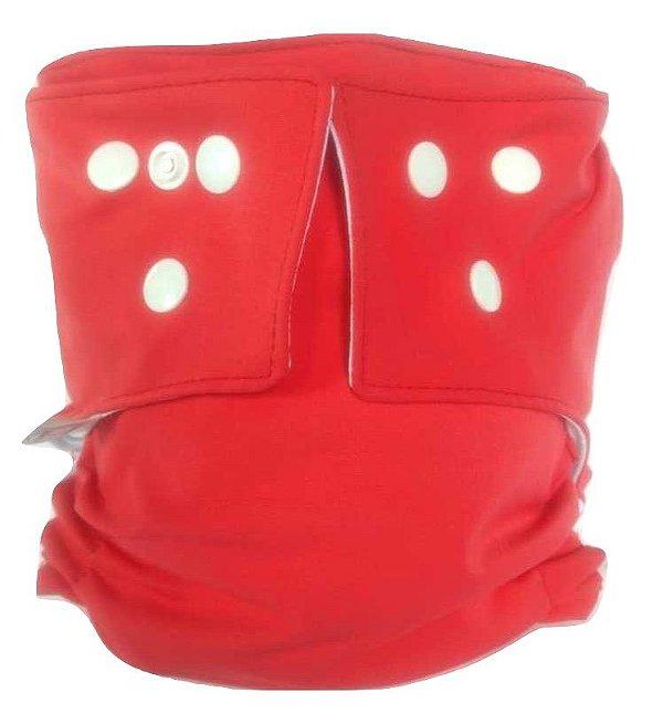 Fralda Ecológica de Piscina - Vermelha