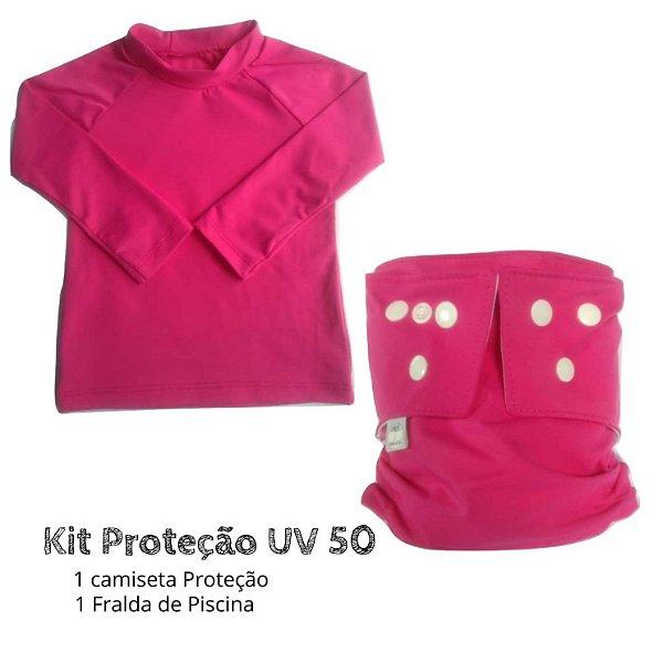 Kit Proteção rosa UV 50 +