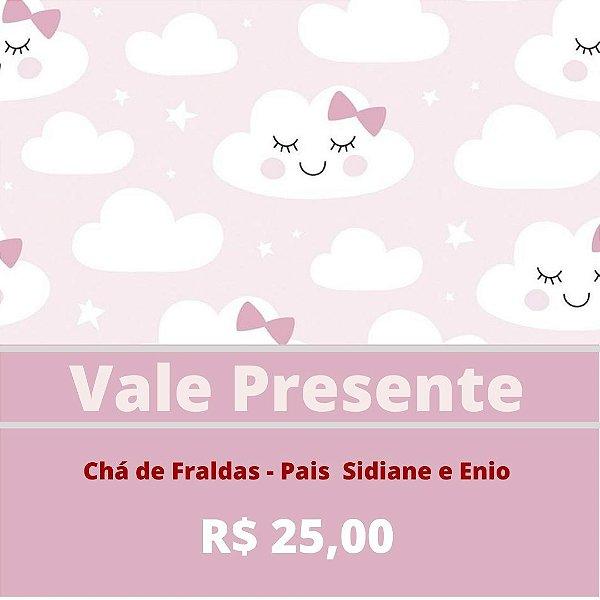 Chá de Fraldas - Pais Sidiane e Enio