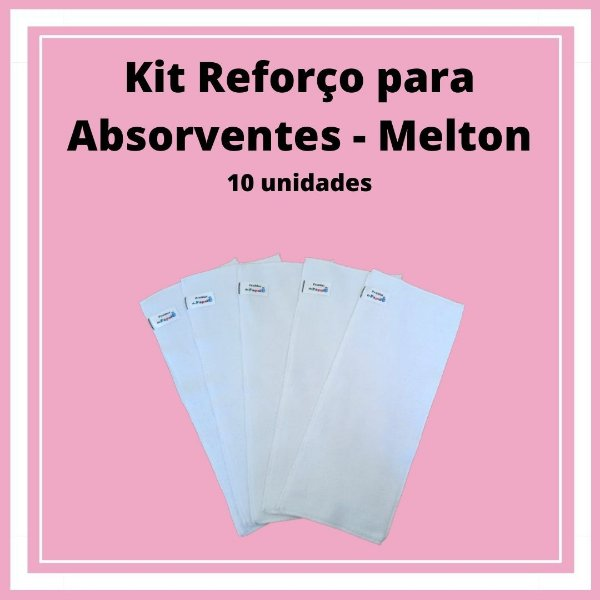 Reforço para Absorventes - Melton 10 unidades