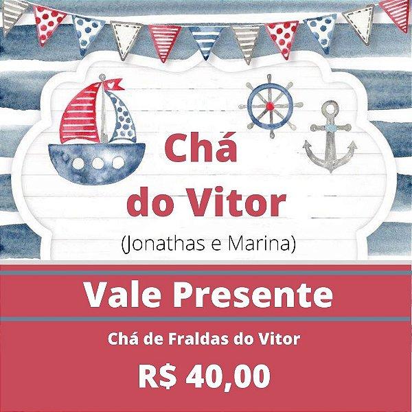 Chá de fraldas do Vitor (Jonathas e Marina)