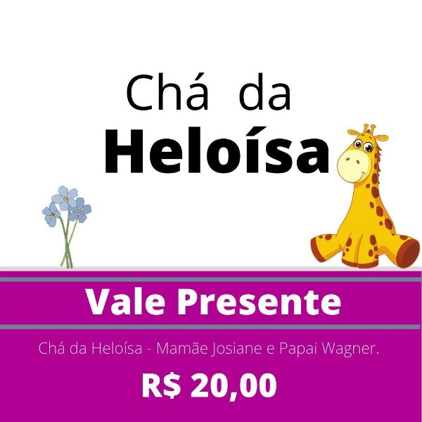 Chá de Fraldas da Heloísa