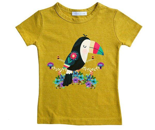 Camiseta linho tucano