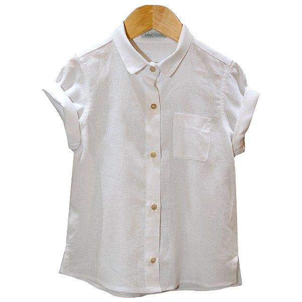 Camisa linho alfaiataria