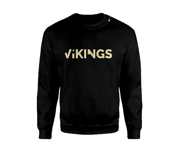 Blusa Black&Gold Vikings