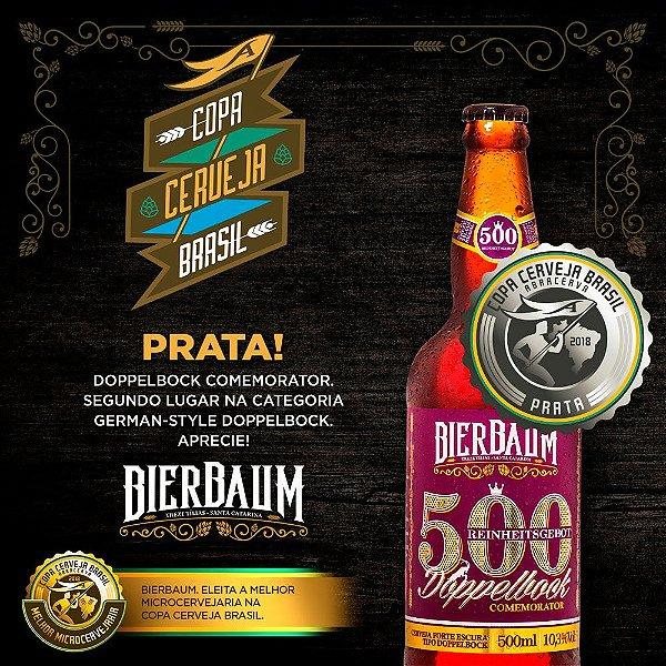 Cerveja Doppelbock 500 Comemorator Bierbaum | Garrafa 500ml