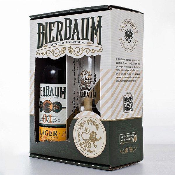 Kit Especial Colecionador de Cervejas Bierbaum | Lager + Copo de Cerveja