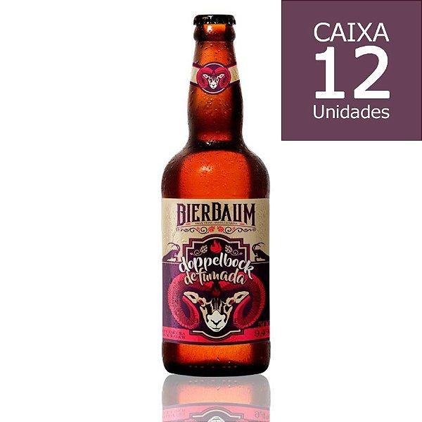 Caixa com 12 Cervejas Bierbaum Doppelbock Defumada   Garrafa 500ml