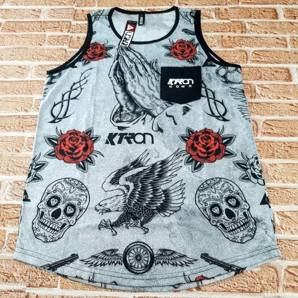 Camiseta Ktron Regata Especial Ref  151 17ac4a13a67