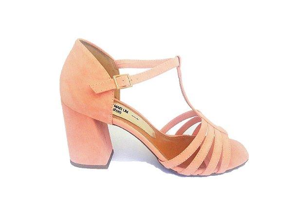 ce6eaf0d6f Sandália Rosa Tiras - SÓ MAIS UM SHOES - Sapatos e Bolsas Femininas