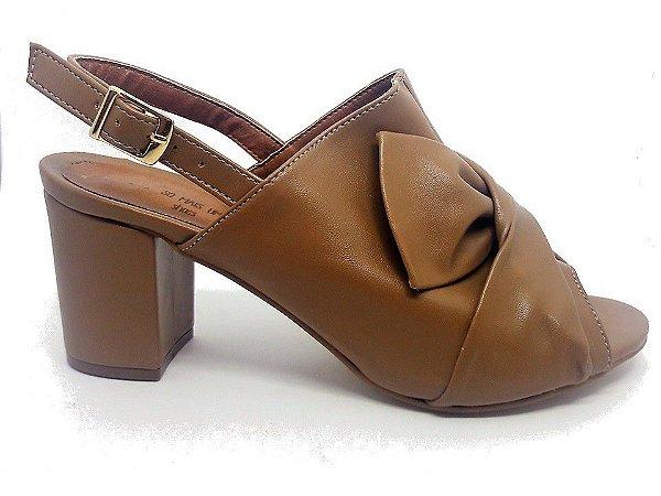 f7c2cc8312 Tamanco Nude Laço - SÓ MAIS UM SHOES - Sapatos e Bolsas Femininas