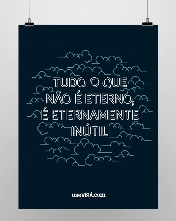 """""""ETERNO""""   Poster (Sem Moldura/Com Moldura)"""