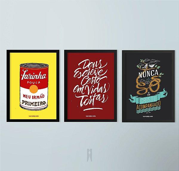 Kit Série Bem Dita | Poster (Sem Moldura / Com Moldura)