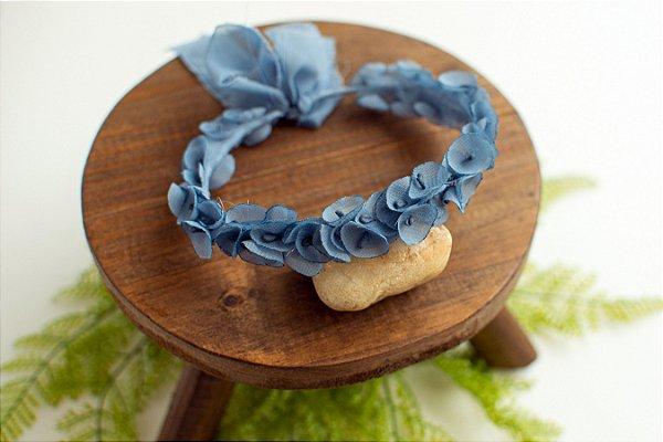 Coroa Beatriz Azul