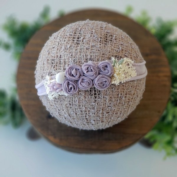 Headband Ana Lilac