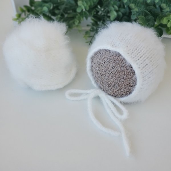 Conjunto Wrap Pêlo Branco