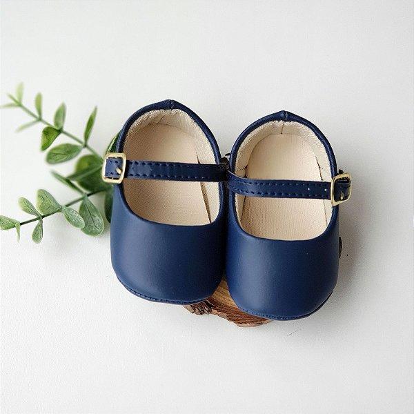 Sapatinho Isabela Azul Marinho