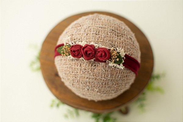 Headband Naty Vermelha