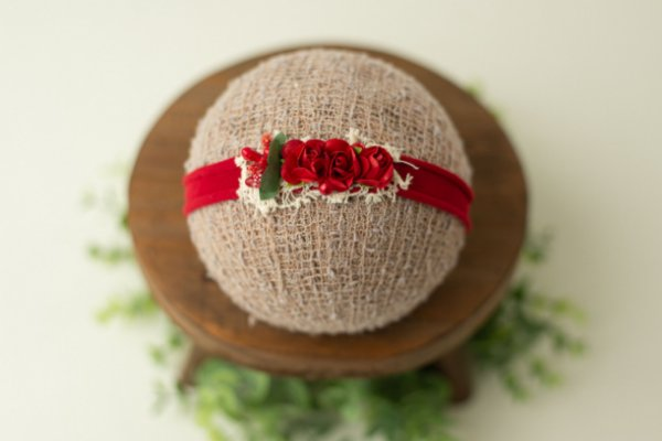 Headband Taís Vermelha
