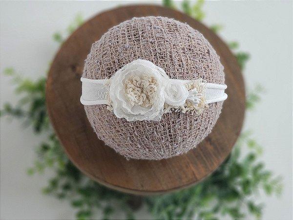 Headband Heloisa Branca