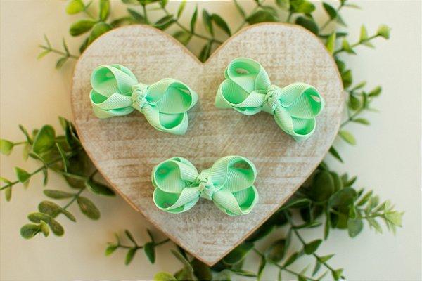 Mini Laço Boutique Verde Água