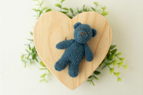 Ursinho Mohair Blue Star