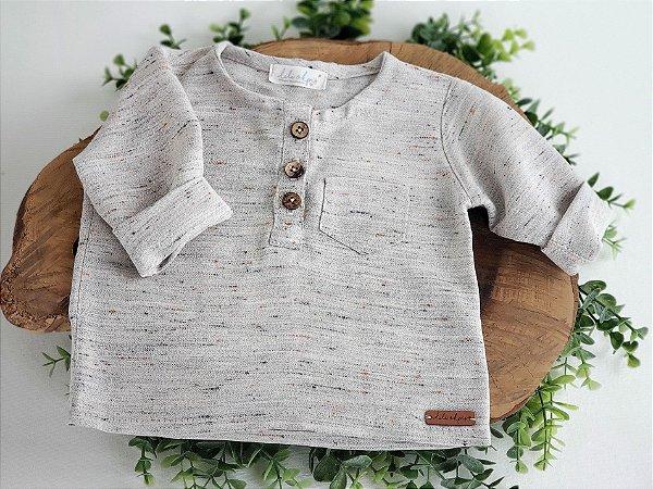 Camisa Linho Mesclado