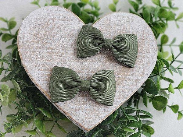 Laço Gravata Verde Militar