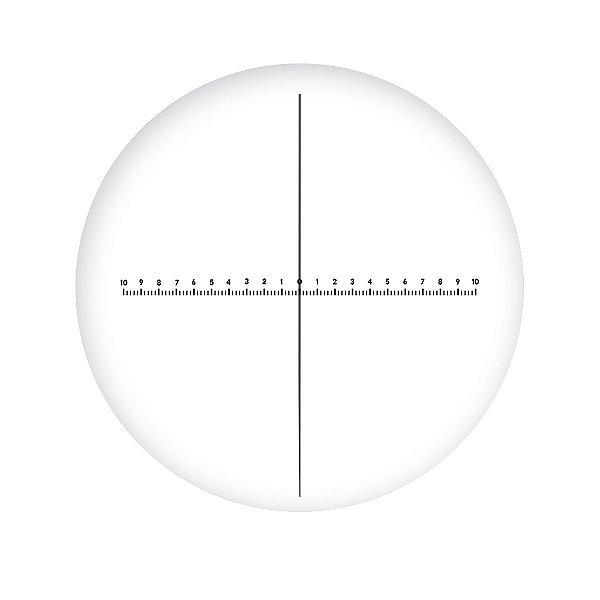 Retículo em Cruz 10mm/100 divisões - TA-0263