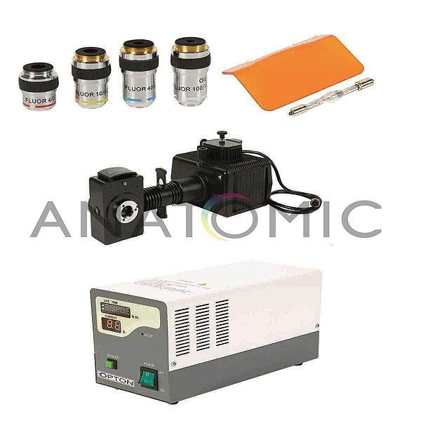 Epi-Iluminador para Imunoflorescência, com Objetivas de Florita - TA-0142