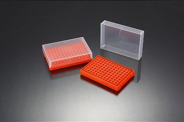 Rack para PCR 96 Poços Cores Sortidas - K30-917