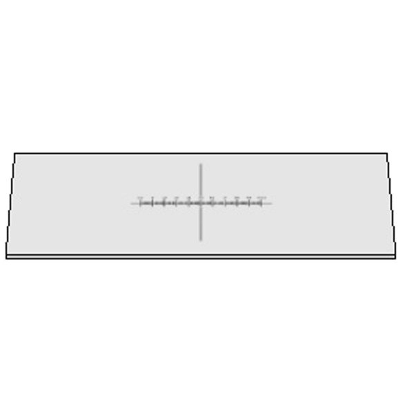 Lâmina Padrão 10mm 100 Divisões - TA-0182