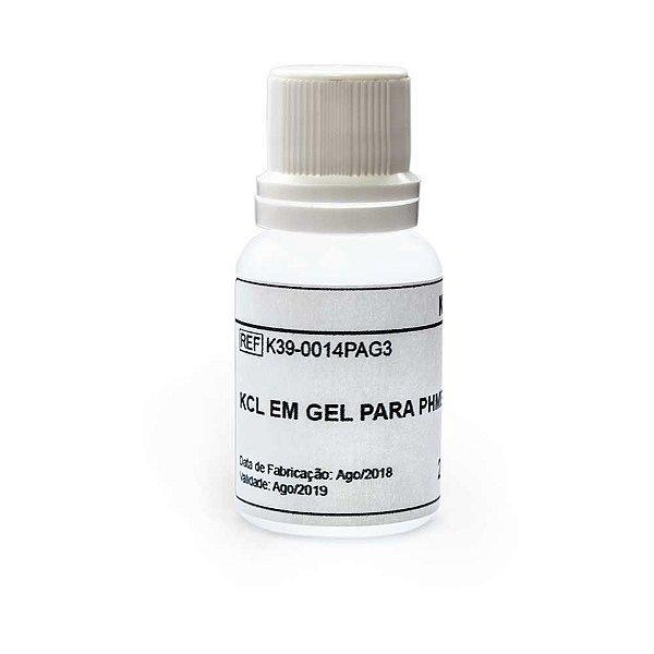 KCL em Gel Para Phmetro de Bolso. 20 ml - K39-0014PAG3