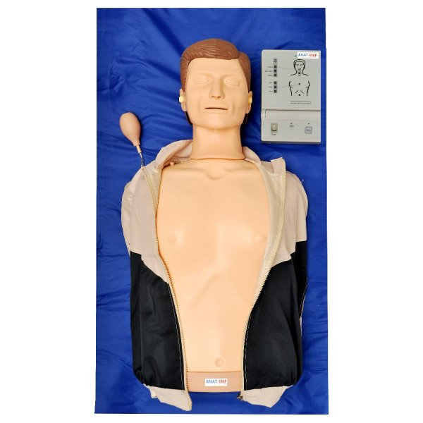 Manequim Torso sem Órgãos para Treino de RCP com Painel Led - TGD-4005-A