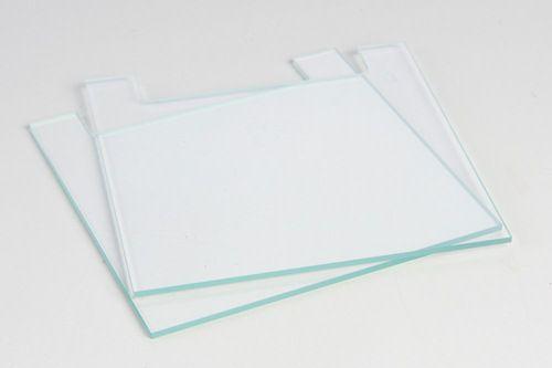 Placas de Vidro Entalhadas com Espaçadores de 1 mm Anexos - K34-26