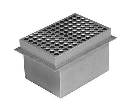 Bloco Banho Seco - Microplaca de PCR ou Placas de Poços Profundos - K81-SB96