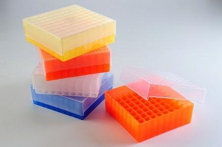 Rack 81 Tubos Criogênicos/Microtubos 1,5/2ml Transparente