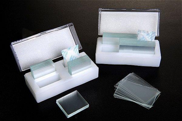 Lamínula para Microscopia 22 x 22 mm - K5-2222