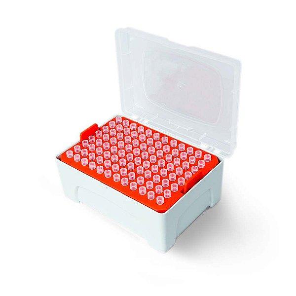 Ponteira com Filtro Transparente Estéril - Rack - 10 ul