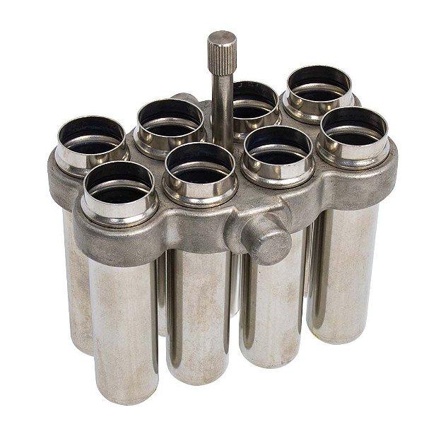 Conjunto 32 Caçapas para Tubos 10 ml Compatível K14-M9 - K14-M9-10